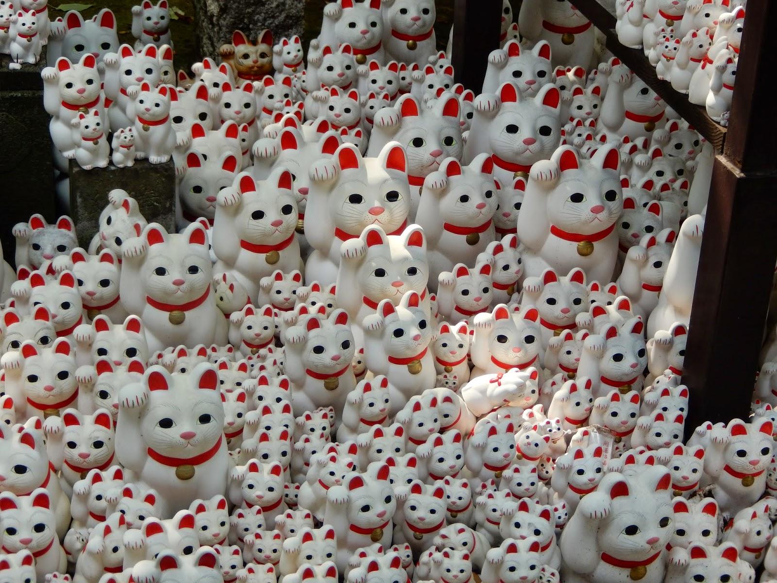 Gotoku-ji cat temple du chat Setagaya