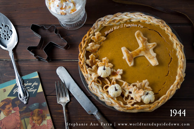 WW2 Recipes Pumpkin Pie