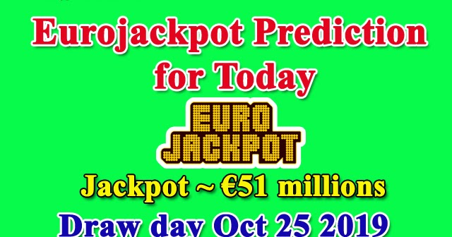Eurojackpot Results Today