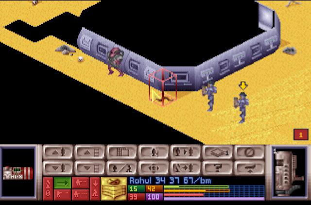OpenXcom - Gazer Alien Screenshot