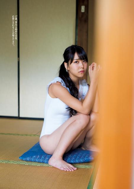 白間美瑠 Shiroma Miru Weekly Playboy No 38 2017 Pics