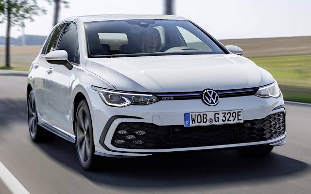 Novo VW Golf GTE 2021 Mk8