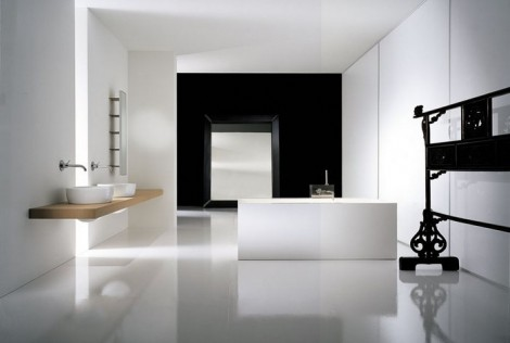 minimalist home ceramic tiles