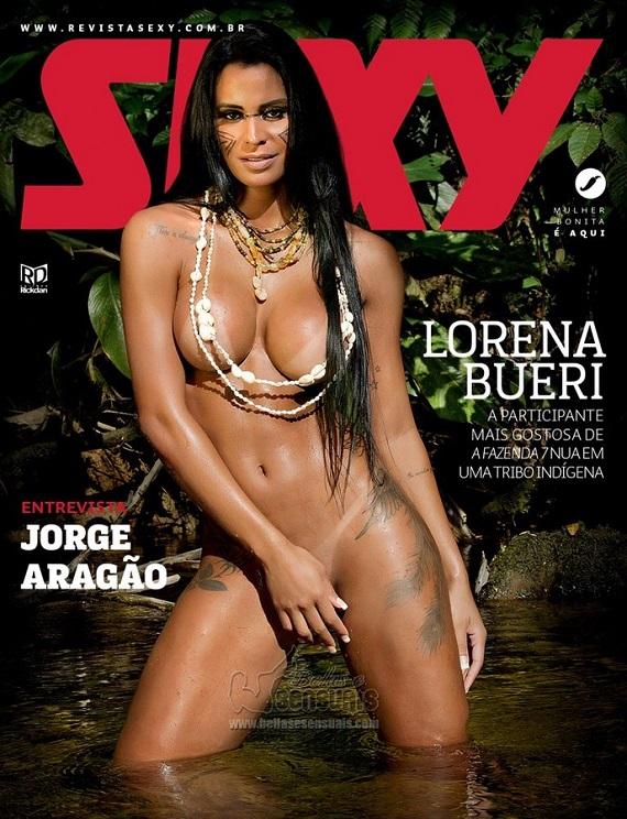 Lorena Bueri na Sexy