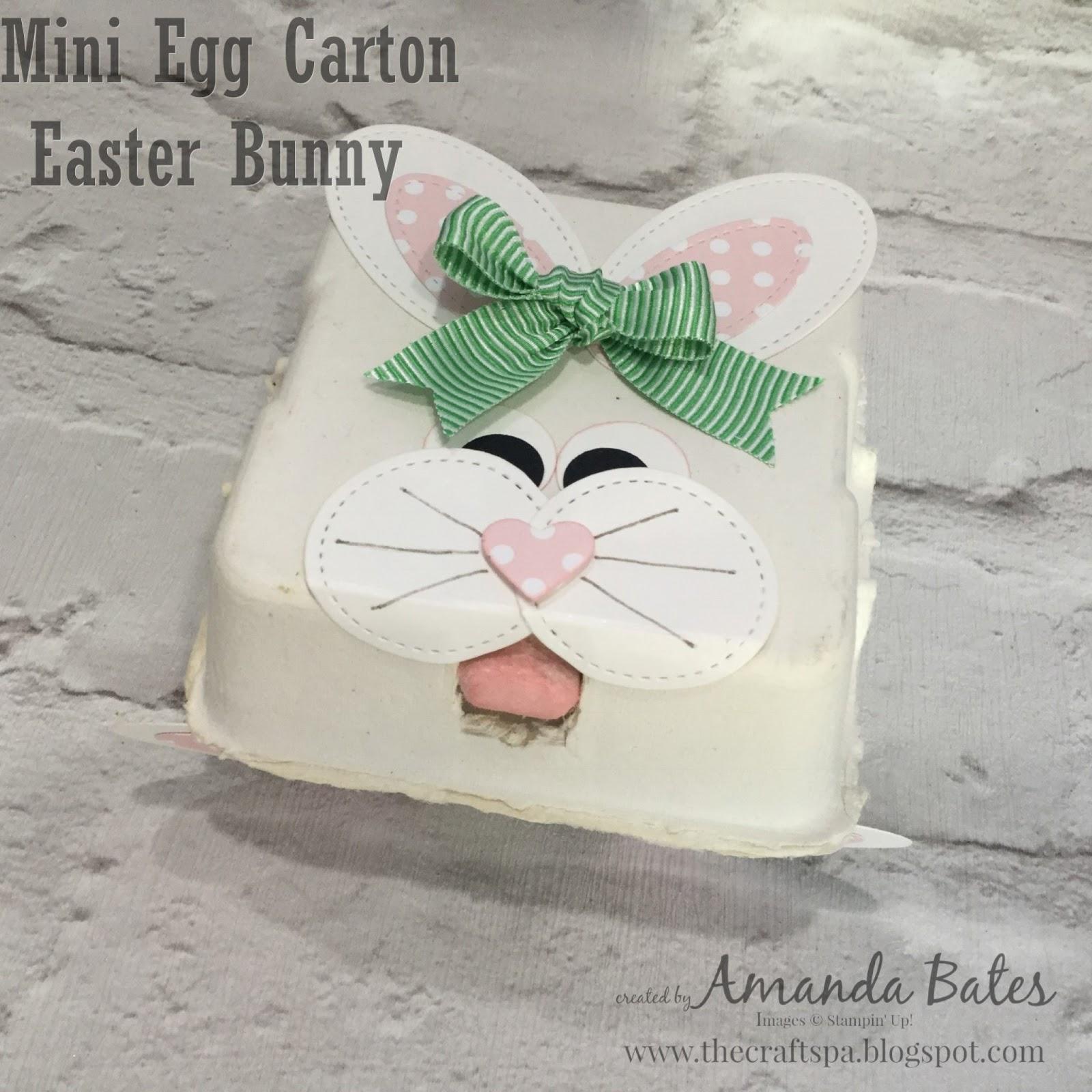 Easter Bunny Mini Egg Carton The Craft