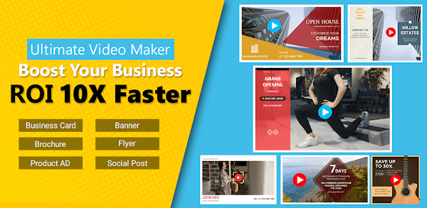 VideoAdKing:Promo Video,Intro Maker,Marketing Video Maker 32.0 | Unlocked