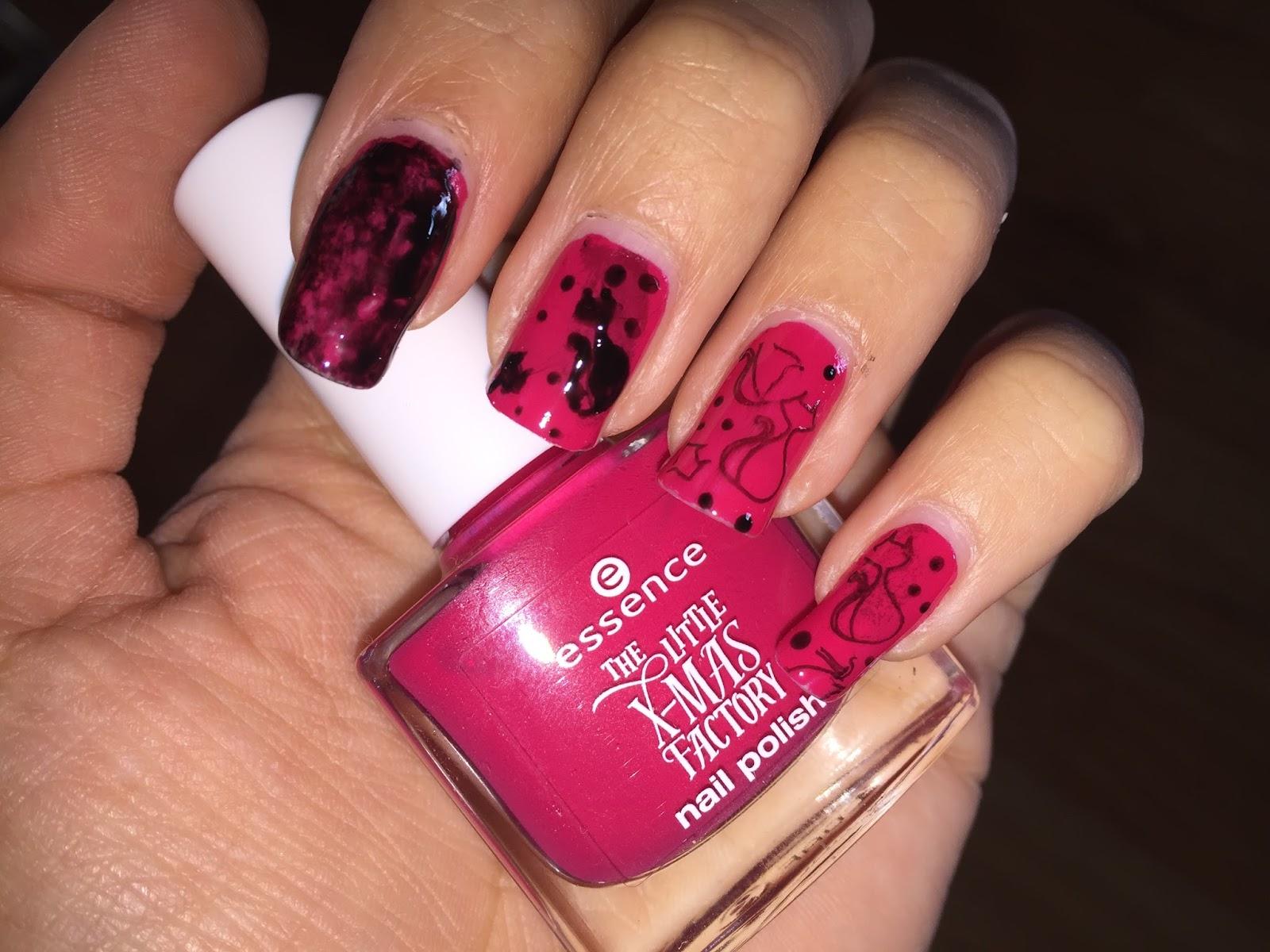 FairyAna: January nail art challenge: Animals