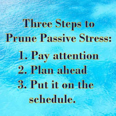 Three ways to prune passive stress on Tammy Talk TV and tammytalk.com