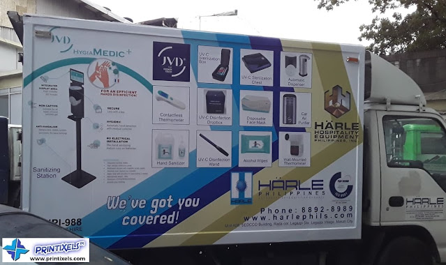 Vinyl Vehicle Wrap - Hanle Philippines