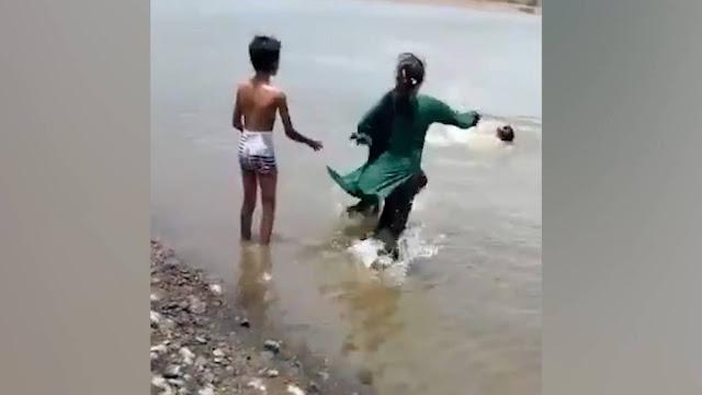 Мальчик в свой день рождения случайно снял на видео, как его отец и брат утонули в озере