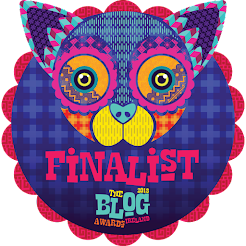 Finalist 2018 Blog Awards Ireland