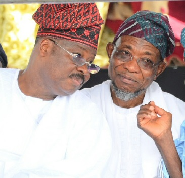 Ajimobi and rauf aregbesola