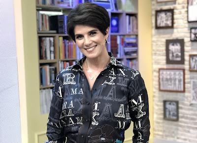 Mariana Godoy passa a comandar programa ao vivo. Crédito: Isabela Gadelha/Vibra