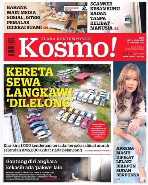 Kereta Sewa Langkawi di Lelong semurah RM5,000