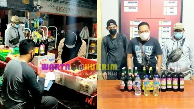 Minimalisir Jual Edar Miras, Tim Cobra Sisir Sejumlah Toko Penjual Miras di Kota Bima