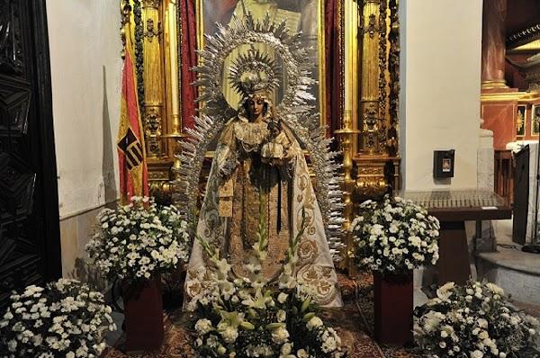 Los frailes de San Gregorio restaurarán a la Virgen de la Merced