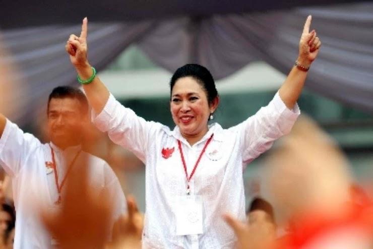 Titiek Soeharto Tantang Airlangga di Munaslub Golkar