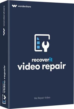 Wondershare Recoverit Video Repair 1.1.1.10 poster box cover