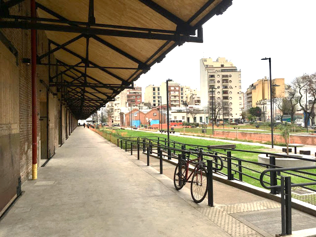 Periódico Primera Página El Parque De La Estación En La