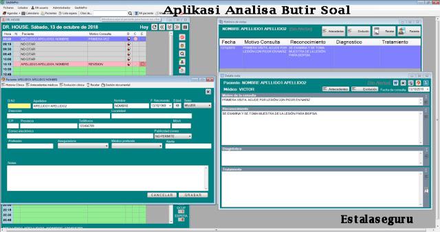 File Pendidikan Aplikasi Analisis Butir Soal K13 SD pilihan ganda dan Uraian