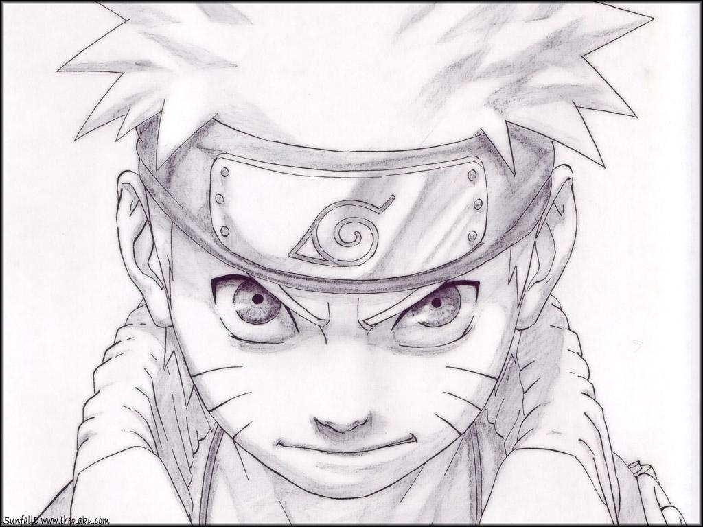 Menggambar Manga Naruto