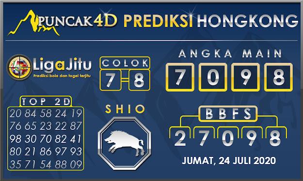 PREDIKSI TOGEL HONGKONG PUNCAK4D 24 JULI 2020