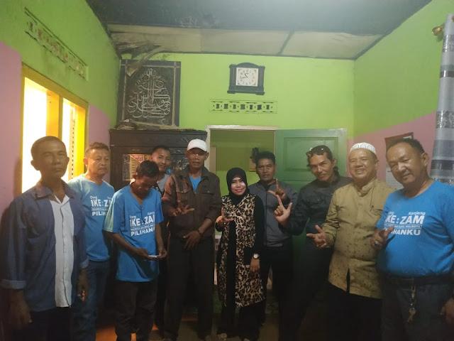 dr.Zam Zanariah,Sp.S.M.Kes kembali mendapat dukungan dari masyarakat Kecamatan Tanjung Karang Pusat (TKP).