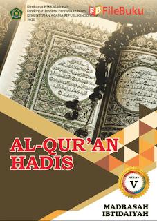 Buku Al-Quran Hadis Siswa MI Kelas 5-V Kurikulum 2013 Revisi 2020