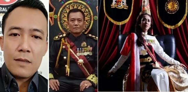 Jalani Pemeriksaan Intensif, Raja Dan Ratu Keraton Agung Sejagat Diboyong Ke Mapolda Jateng