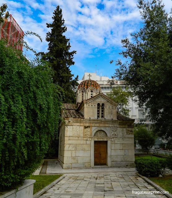 Capela de Agios Eleftherios, Atenas