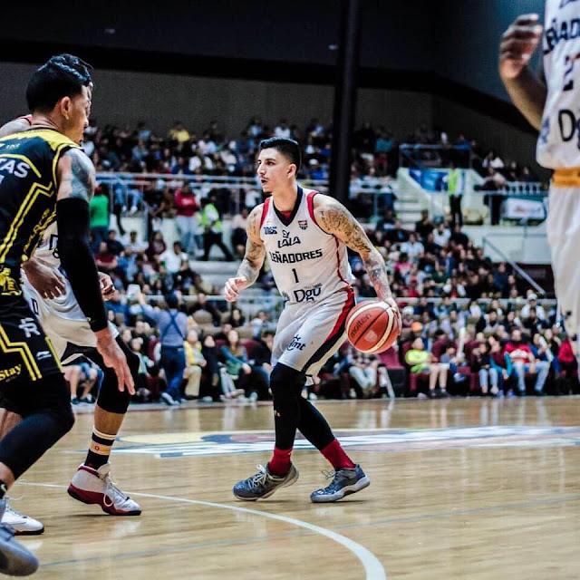LNBP Basketball Joseph Soto Leñadores de Durango