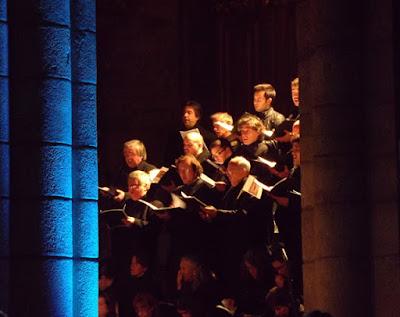 coro na igreja do Porto