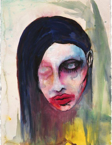 Pintura de Marilyn Manson