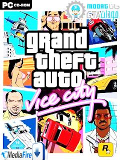 حصريا  تحميل وتتبيث لعبة pc GTA VICE CITY من  patch-gta4u على المحبوبة روابط mediafire