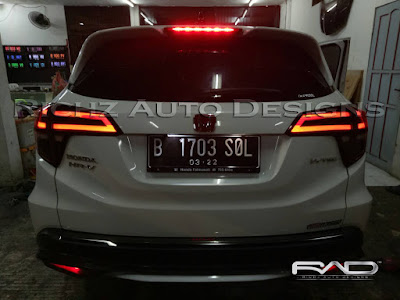custom stoplamp hrv model audi