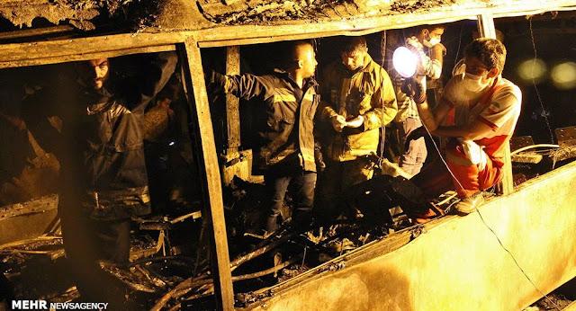 27 muertos al chocar camión contra autobús en Irán
