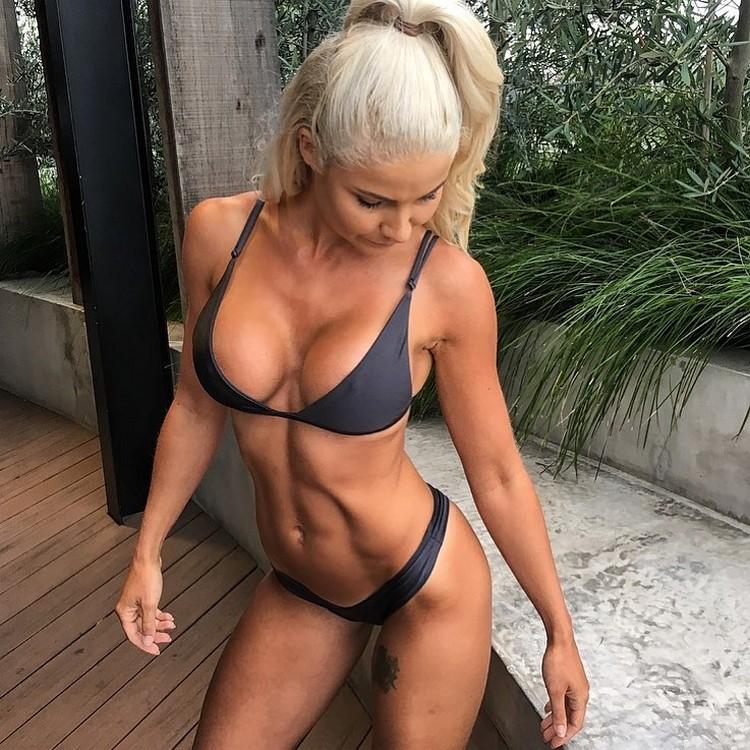 Jaz Correll fitness model 0001