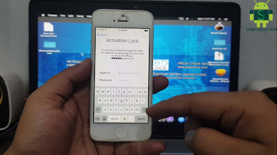 iPhone 5 iOS10.3.4 Untethered iCloud Bypass Free.