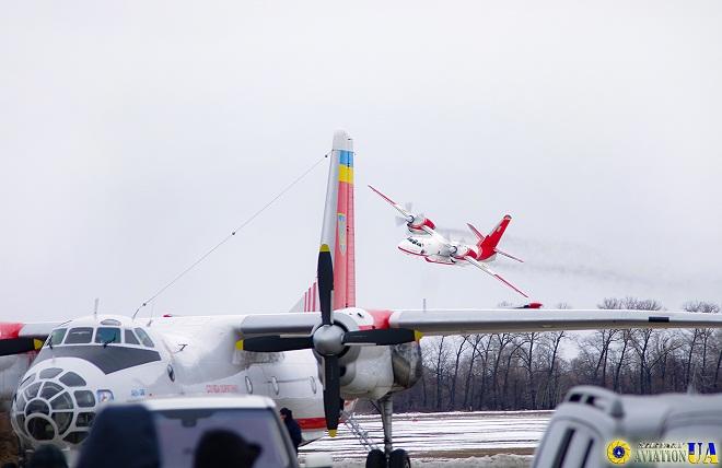 Річниця авіаційного загону ОРС ДСНС