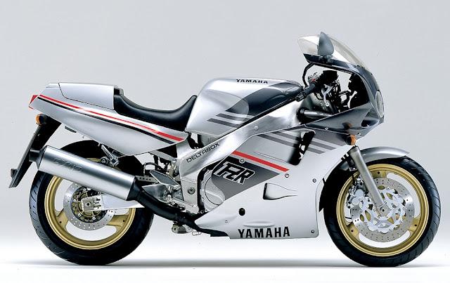 Yamaha FZR1000 Japanese modern classic sports motorbike