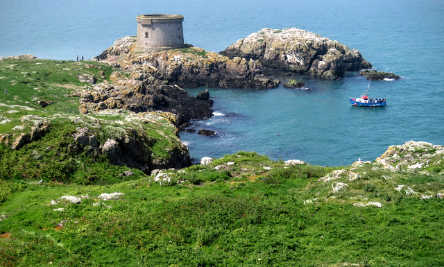 Day trip to Ireland's Eye Island - Ireland's Eye Ferry approaching