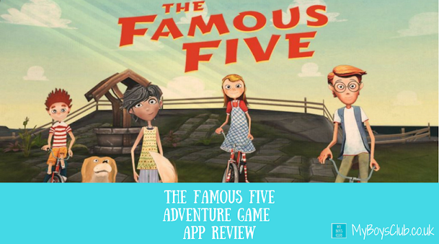 The Famous Five adventure game app review