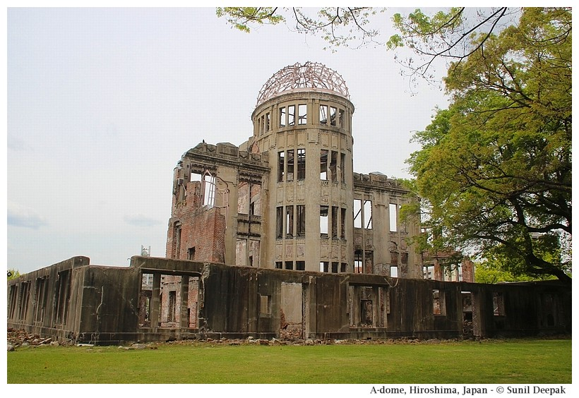 A-dome, Hiroshima, Japan - Images by Sunil Deepak