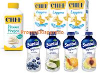 Logo Parmalat buoni sconto da stampare Santal e panna Chef