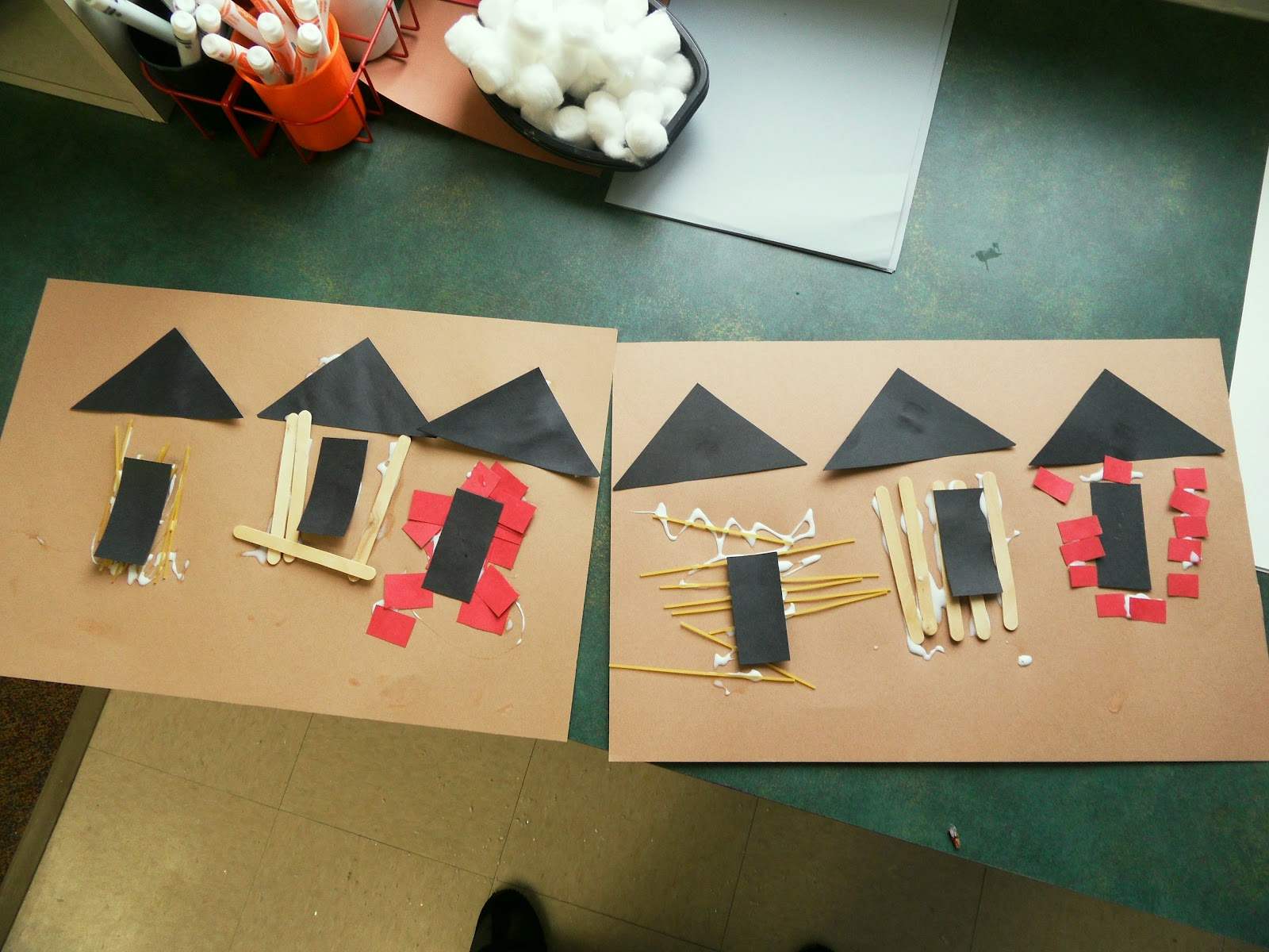 My Adventures In Preschool 3 Little Pigs