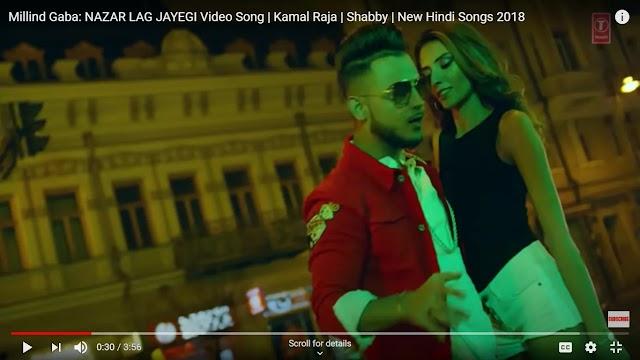 Nazar lag jayegi Lyrics : Millind Gaba - Cast Names