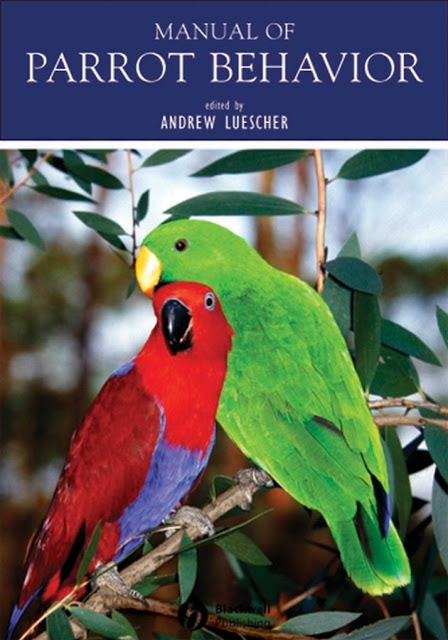 Manual of Parrot Behavior - WWW.VETBOOKSTORE.COM