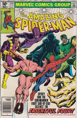 Amazing Spider-Man #214, Llyra and the Frightful Four