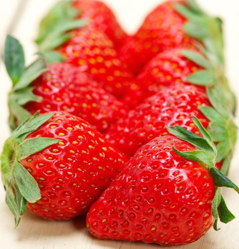 Bibit Benih Biji Buah Strawberry Giant Strawberi Jumbo Isi 100 Biji Banten