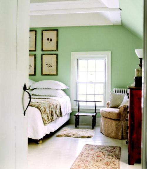 Seu quarto verde sou adulta agora for Bright green bedroom ideas